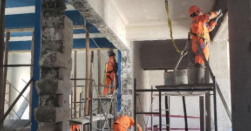 Advierten riesgos por obra sin licencia en la Universidad San Agustín - UNSA Arequipa