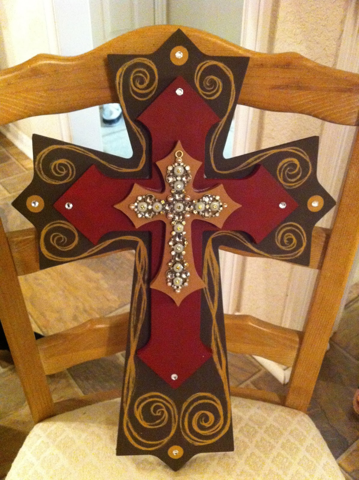 Ideas Painting Wood Cross Painting For Home