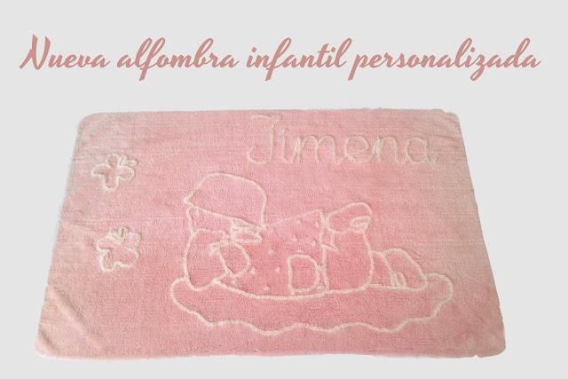 alfombras infantiles PERSONALIZADAS con nombre