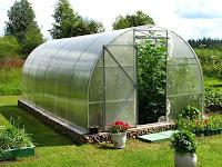 Inilah 3 Jenis Kerangka Bangunan Green House Dengan Plastik UV