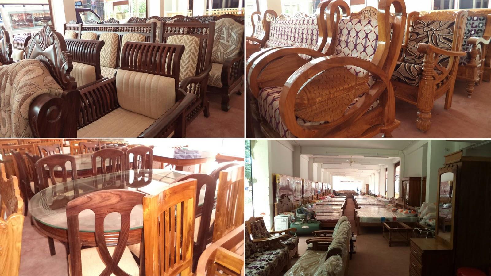 Home Design Plans Teak Wood Furniture In Kerala