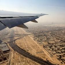 Der Himmel über Dubai - Wüstenstaat aus der Vogelperspektive