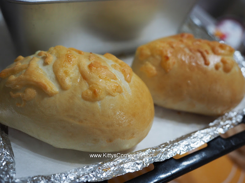 Curry potato bread 咖哩薯腸仔包 自家烘焙 食譜 home baking recipes