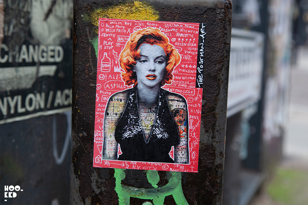 The Postman Collective - Shoreditch Street Art Stickers