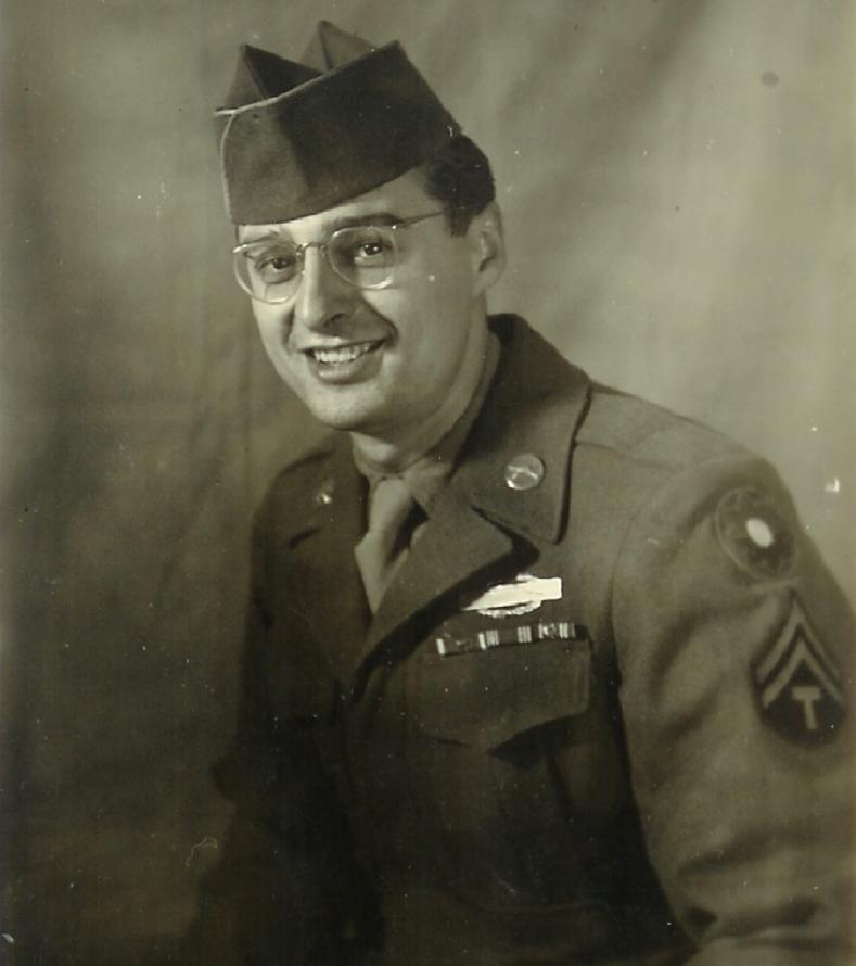 Soldier in uniform.