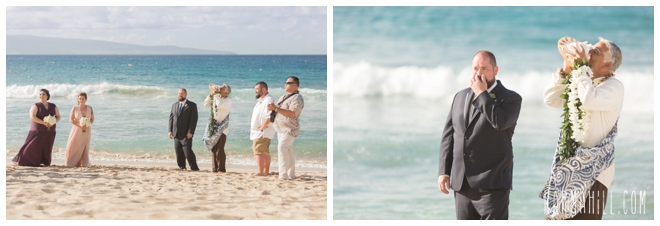 Maui Wedding on the beach