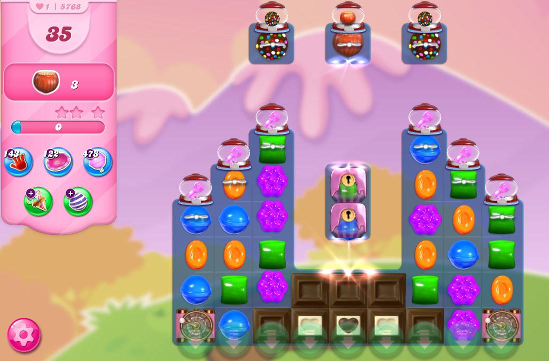 Candy Crush Saga level 5768