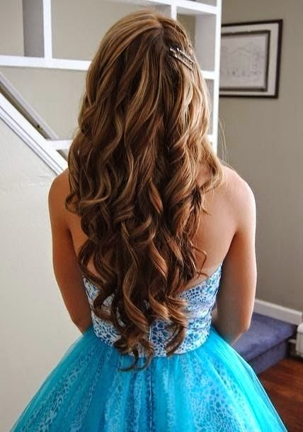Beautiful Wavy Long Hairstyles}