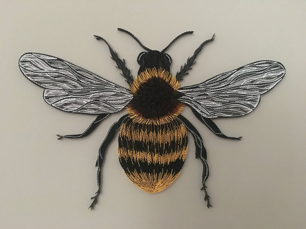 12-Bumblebee-Tatiana-People-and-Animal-Portraits-plus-Flower-Quilling-www-designstack-co