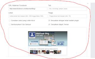 Setting fanspage facebook plugin