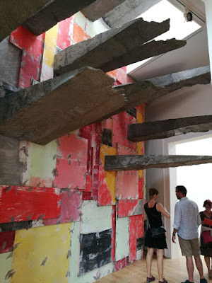 Phyllida Barlow's installation for the British Pavilion, 'Folly' at Venice Biennale, Image courtesy Shraddha Rathi, Art Scene India
