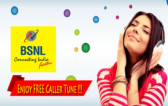 BSNL offers Full talk time and free caller tune with unlimited song change with Top Up Rs260