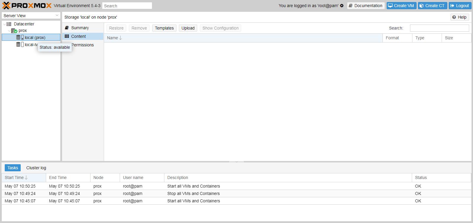 Cara mudah upload file ISO Image di proxmox step by step lengkap