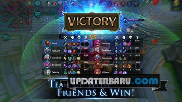 Mobile Legends APK v1.1.18 Terbaru Game MOBA For Android Hack Mod Cheat