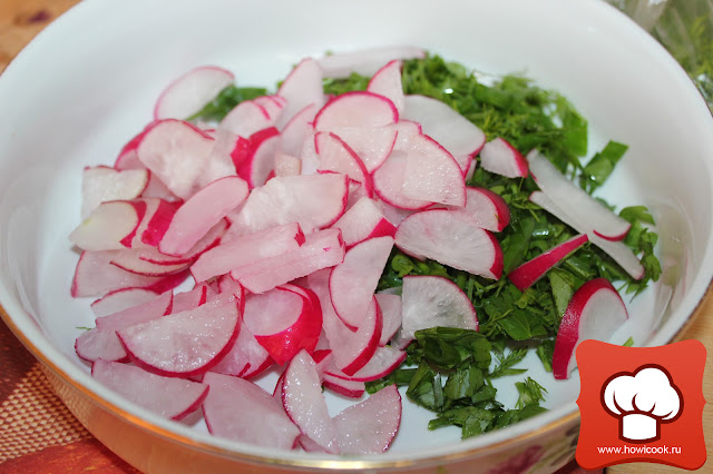 рецепт легкого летнего салата
