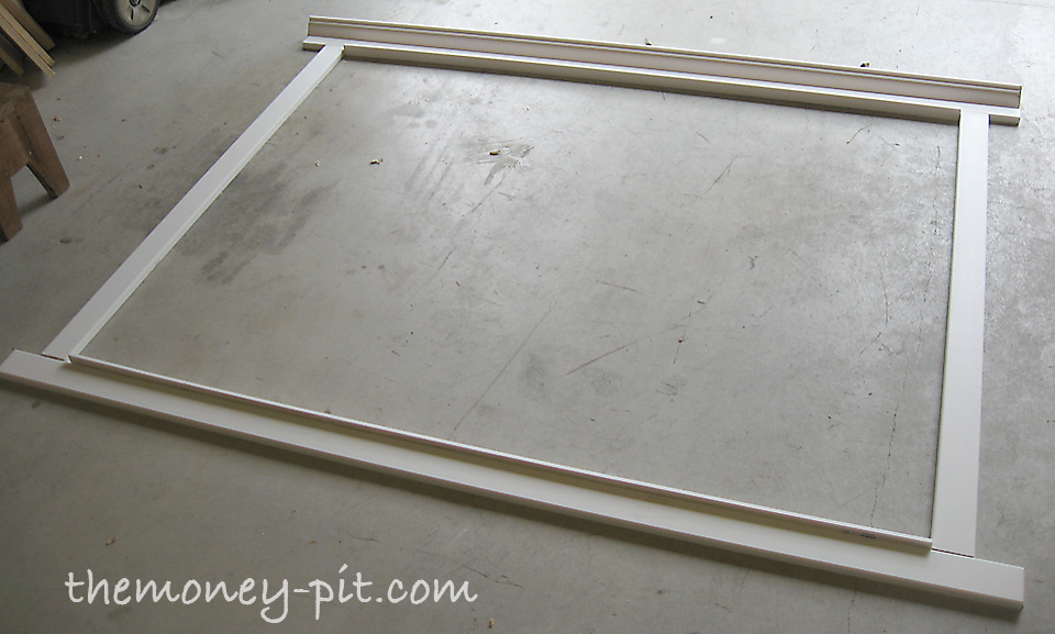 For My Mirror 3 Ft X 5 Ft My Dimensions Looked Like This
