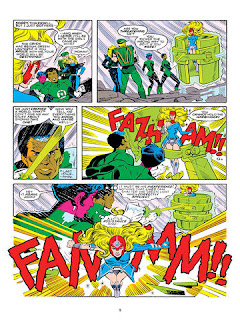 "Reseña de ""Green Lantern: Sector 2814"" de Len Wein y Dave Gibbons - ECC Ediciones."