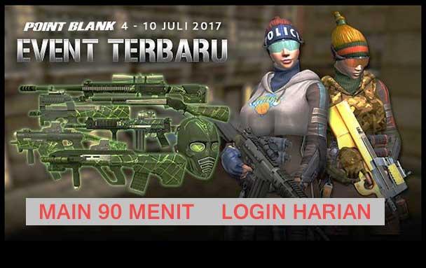 Event PB Garena 4 Juli 2017 2 Tahun Garena PB ID