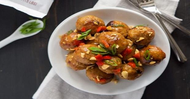 Sweet Chili Glazed Meatballs Recipe