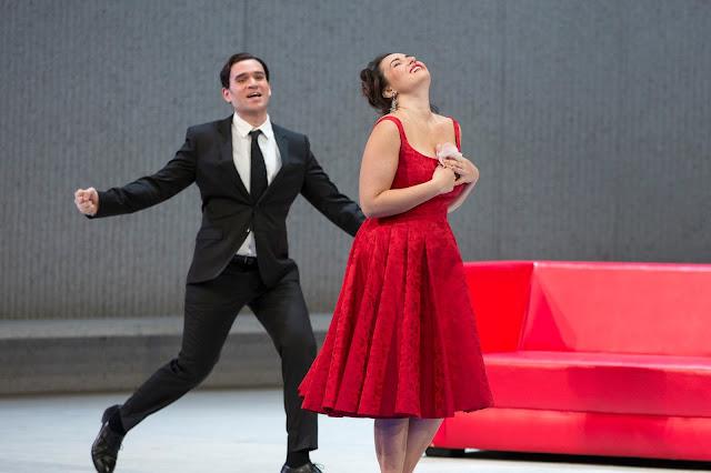 Michael Fabiano, Sonya Yoncheva - Verdi's La Traviata - Metropolitan Opera (photo Marty Sohl | Metropolitan Opera)