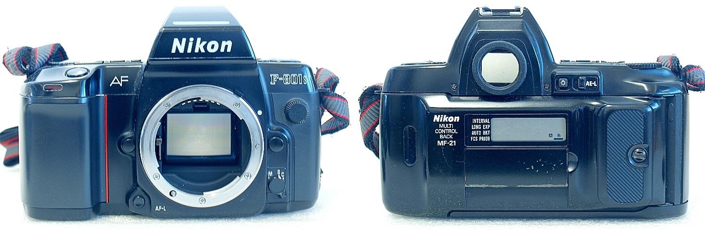 Nikon F801s with MF-21 Back #895-2