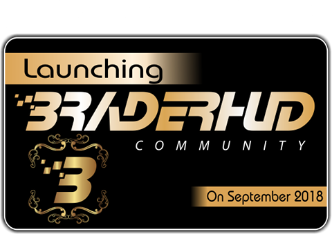 Braderhud Community Akan Lauching On September 2018