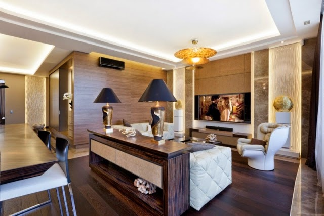 Sala moderna beige