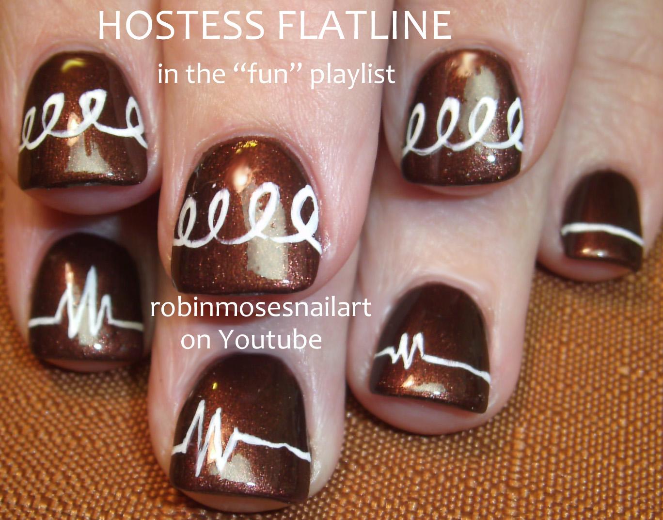 Nail Art By Robin Moses Hostess Cupcake Nail Art Hostess Nail Art