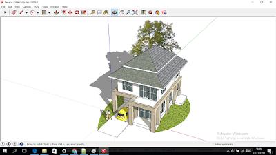 บ้านที่แสน อบอุ่น File SketchUP