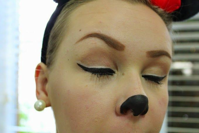 Minnie Mouse Makeup | Happy Halloween | Cate Renée