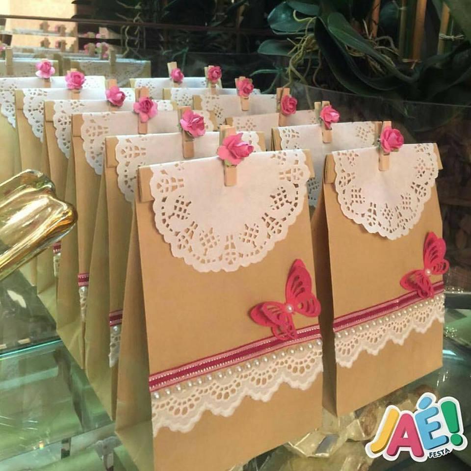 Atelie cantinho da arte sacolas decoradas lembran as - Ideas de decoracion baratas ...
