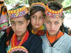 kalash girls Pakistan