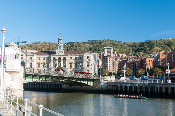 Puente del ayuntamiento. Bilbao, la ria y sus puentes