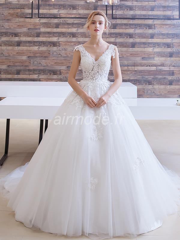 rendas vestido de casamento barato