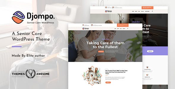 Djompo v1.2 – Senior Care WordPress Theme