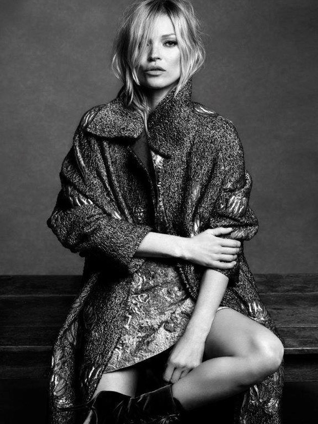 Kate Moss stars for the Alberta Ferretti Fall/Winter 2016 Campaign