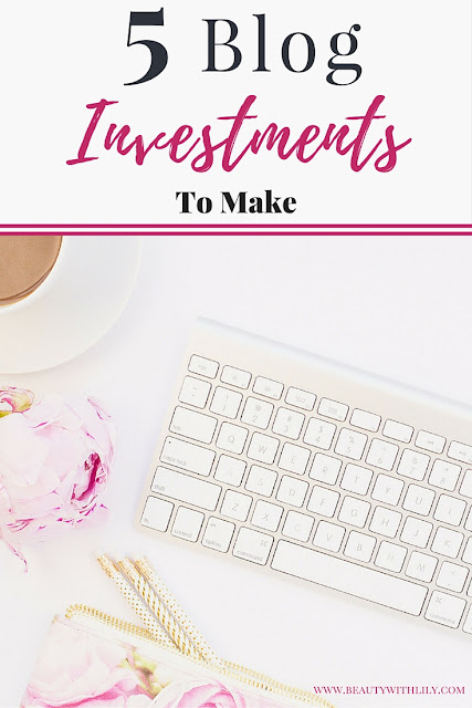 If you are serious about blogging, here are 5 INEXPENSIVE blog investments worth every penny that will help your blog GROW! | beautywithlily.com