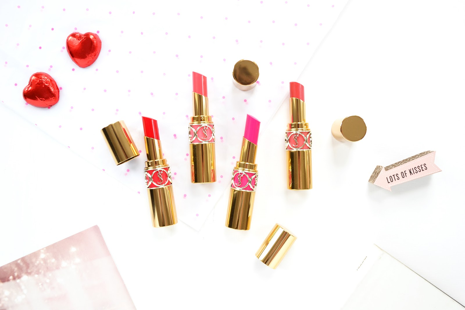 YSL Rouge Volupté Shine - NEW SHADES For Spring 2016