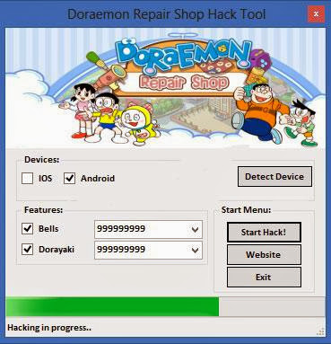 Download Free Doramon Repair Shop (All Versions) Hack Unlimited Bells,Dorayaki 100% working and Tested for IOS and Android.