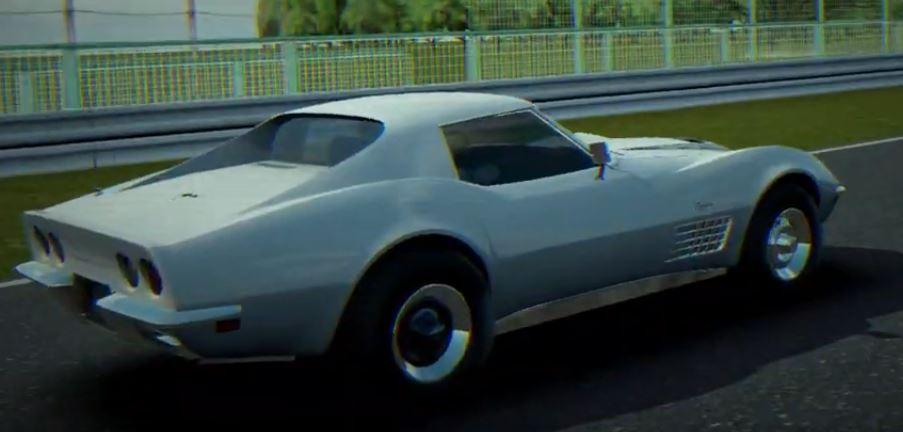Chevrolet Corvette C3 Stingray LT1 1970