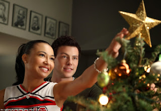 Recap/review of Glee 2x10 'A Very Glee Christmas' by freshfromthe.com
