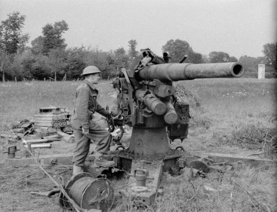 26 May 1940 worldwartwo.filminspector.com German 88mm anti-aircraft gun