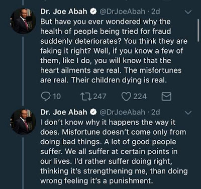 People who acquire wealth illegitimately may appear successful but they have no peace of mind - Joe Abah