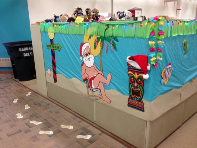 The Pursuit of Happiness: Surfing Santa Hawaiian Office