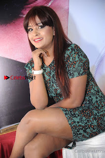 Kannada Actress Soujanya Stills in Short Dress at Nanobbne Olleyavnu Movie Audio Release  0005.jpg