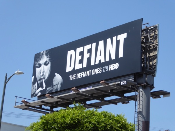 Tom Petty Defiant billboard