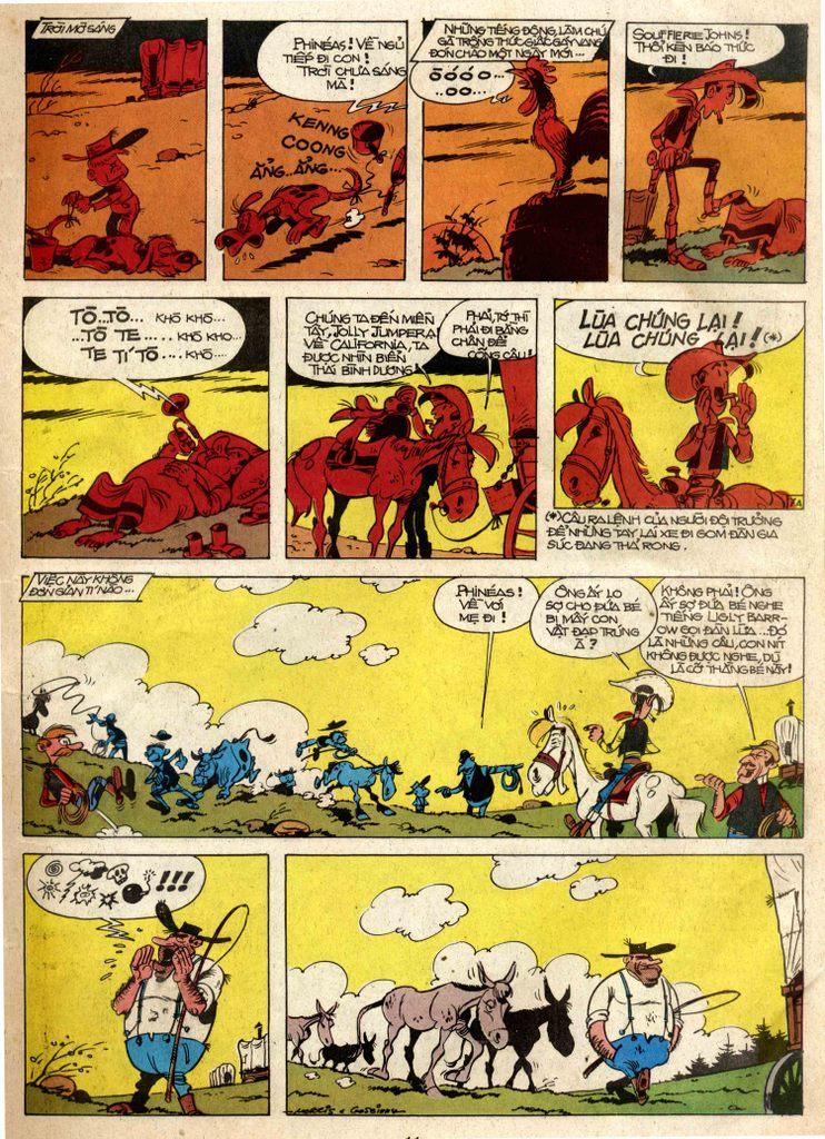 Lucky Luke tap 3 - doan lu hanh trang 7