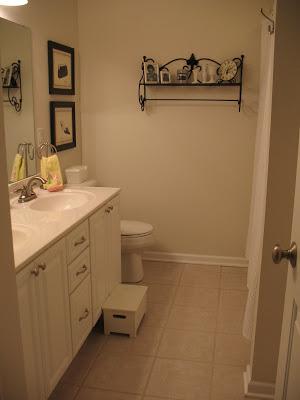 Coastal bathroom before