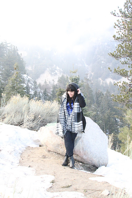Lake Arrowhead Winter Mountain Style Outfit Inspiration