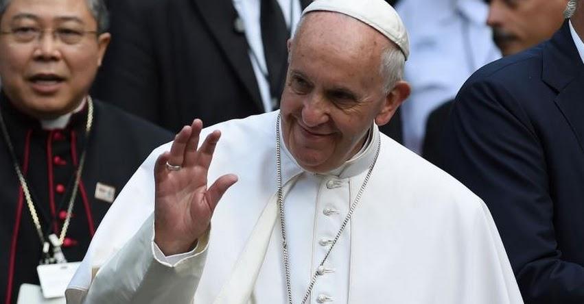 PAPA FRANCISCO: Pontífice envía 100 mil dólares para damnificados del Perú